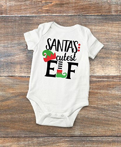 Baby Bodysuit - Santa's Cutest Elf - Unisex