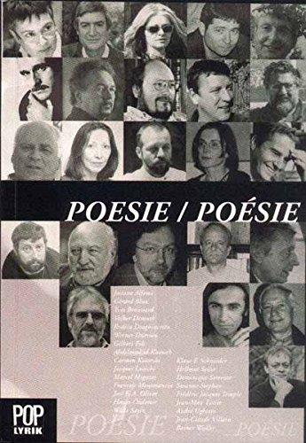 Zeitgenössische Dichtung aus Frankreich und Deutschland - Anthologie von Gerard Blua und Sergiu Stefanescu