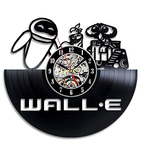Walle Gift Wall Clock Vinyl Record Art Decor Retro