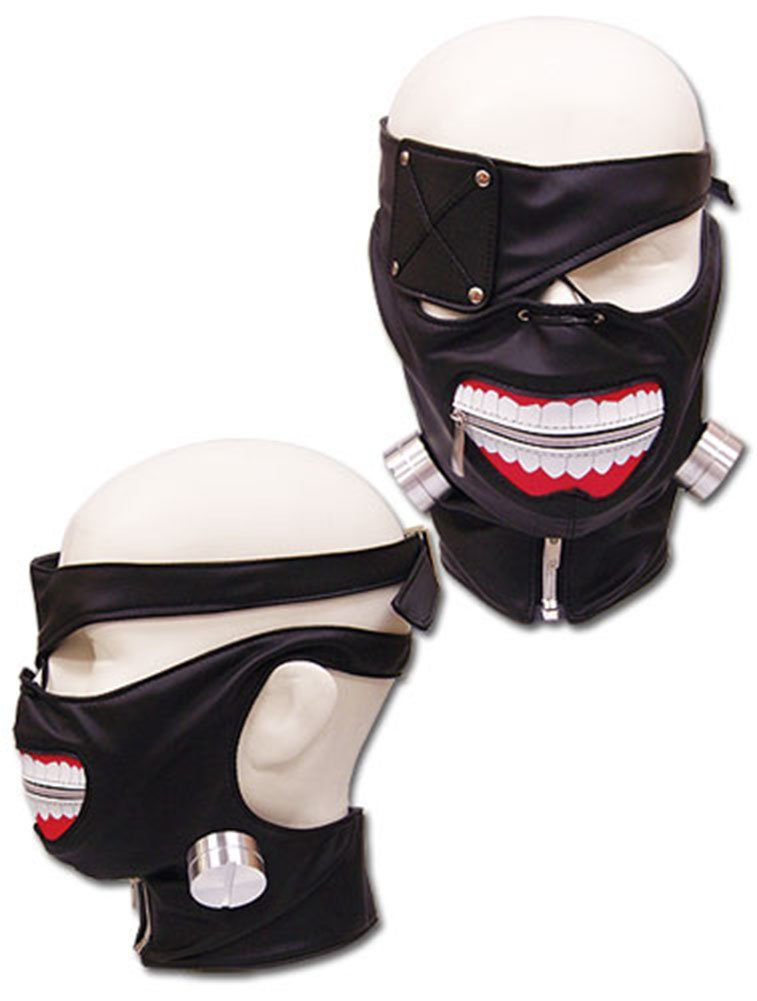 Cosplay - Mask - Tokyo Ghoul - New Kanekis One-Eyed Ghoul Anime Licensed ge23591 by Anime: Amazon.es: Juguetes y juegos