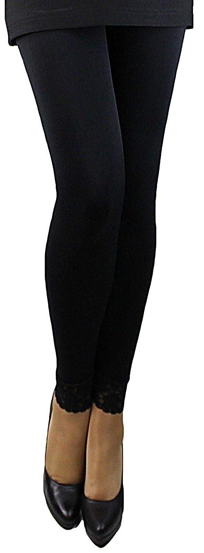 Damen Slim Leggings Shapewear-Form Leggings Bauch Weg Leggings Strass 38-44!