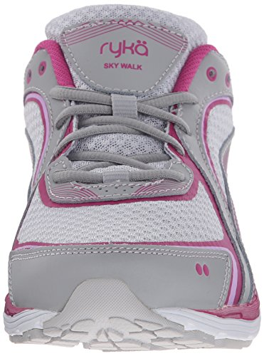 RYKA Womens Sky Walking Shoe, Cool Mist Grey/Orchid Bouquet, 11 W US