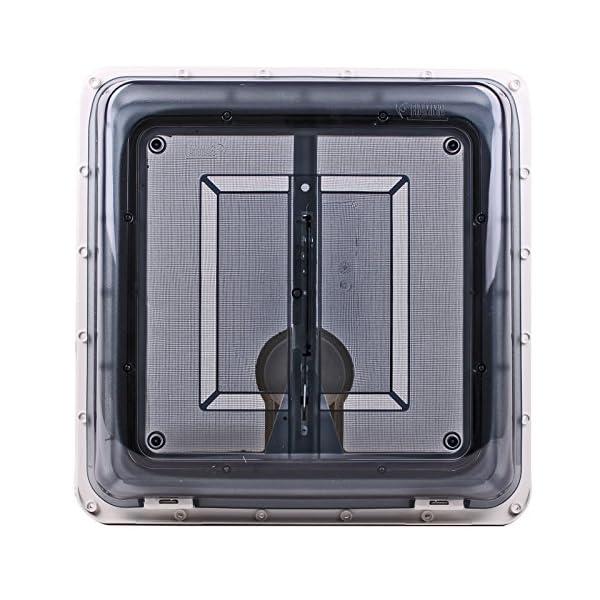 51nzp8AJwLL Fiamma Dachfenster Vent 40x40 cm Klar + Dekalin Dichmittel + Schrauben für Wohnwagen Oder Wohnmobil
