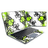 Simply Green Design Protective Decal Skin Sticker (Matte Satin Coating) for Samsung ATIV Smart PC 500T Tablet + Keyboard by MyGift
