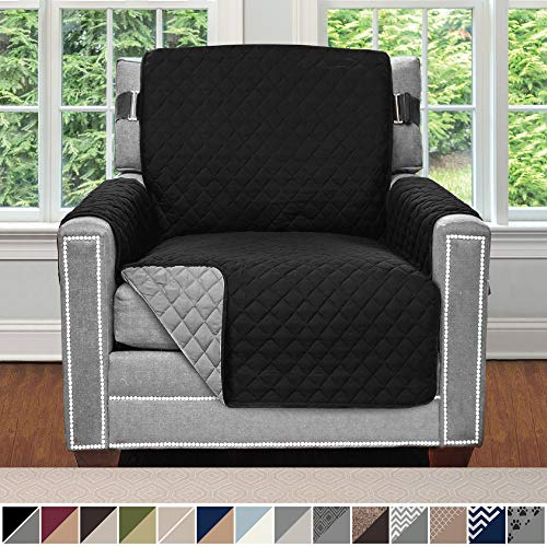 Sofa Shield Original Patent Pending Reversible Chair Slipcover, Dogs, 2