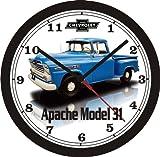 1959 CHEVROLET APACHE MODEL 31 PICKUP WALL CLOCK-Free USA Ship!