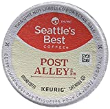 Post Alley Blend (Previously Signature Blend No. 5)–This is a smoky and intense French roast with a wonderfully smooth side. Best enjoyed by pausing for a moment to allow the aromas to stir your senses before taking the first sip.  Keurig, K-...