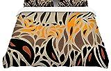 KESS InHouse Viviana Gonzalez''Africa-Abstract Pattern I'' King Cotton Duvet Cover, 104 x 88''