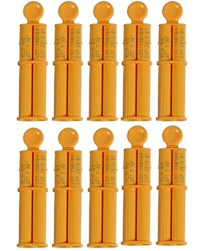 10 PIECE CARTRIDGE/MIX TIP PACKAGE REPRORUBBER SINGLE APPLICATION SYSTEM (Piece Cartridge 10)