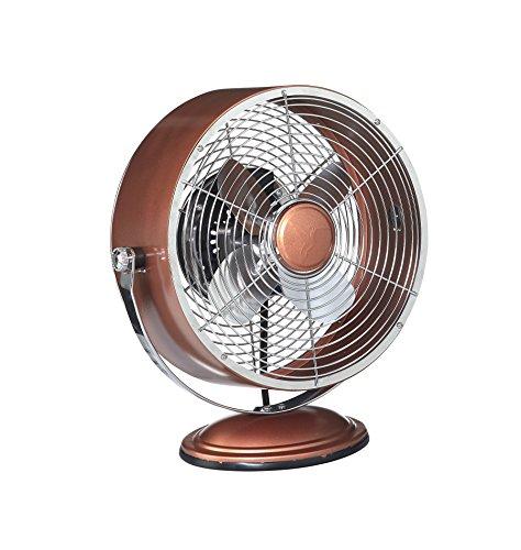 Deco-Breeze-DBF6161-Retro-Collection-Copper-Metallic-Swivel-Table-Fan