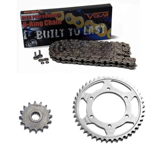 (2006-2018 Yamaha YZF R6 O-Ring Chain and Sprocket Kit - Nickel)