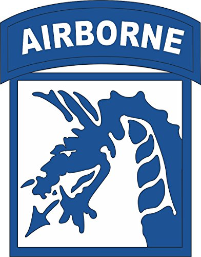 - Military Vet Shop US Army 18th Airborne Corps Patch Vinyl Transfer Window Bumper Sticker Decal 3.8