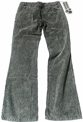 club Bootcut AMOUR vas Fornarina EMBRASSE Designer cordon Jeans Pantalon Femme VOUS Plus VOUS Gris q6Xt6P