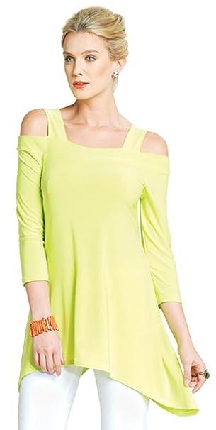 93407ffb69f Clara Sunwoo Peek a Boo Shoulder Tunic: Amazon.ca: Clothing & Accessories