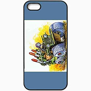 Personalized iPhone 5 5S Cell phone Case/Cover Skin Army Moves Black