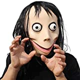 PartyHop - Momo Scary Mask Brown