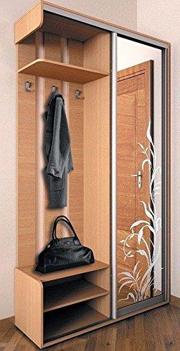 Garderobe Buche Fur Flur Mobel Set Kompakt Spiegel Schiebetur