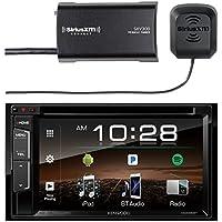 Kenwood DDX25BT Multimedia Bluetooth Receiver with Sirius SXV300v1 Vehicle Satellite Radio Tuner