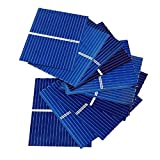 AOSHIKE Micro Polycrystalline Silicon Solar cell Panel DIY Charger Battery Solar Panel DIY solar module 0.5V 0.2W 0.4A 100pcs 39 x 31.2mm/1.5x1.2inch