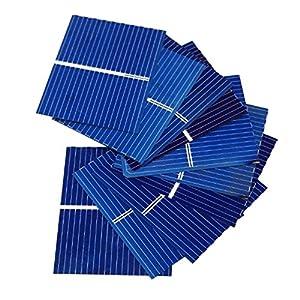51nzs7CbQFL. SS300  - Aoshike 100pcs 39 x 31.2mm/1.5x1.2inch Polycrystalline Silicon Solar cell Panel DIY Charger Battery micro mini Solar Panel DIY solar module 0.5V 0.2W 0.4A