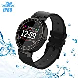 uwinmo Fitness Tracker,Fitness Watch with Heart Rate Monitor Call Reminder Calorie Counter Watch Pedometer Sleep Monitor, Bluetooth Smart Wristband for Kids Women Men Waterproof
