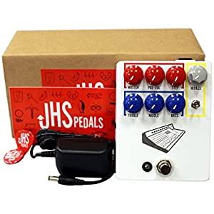 JHS Colour Box Preamplifier Pedal for Guitars, Microphones, and Line-level Sources