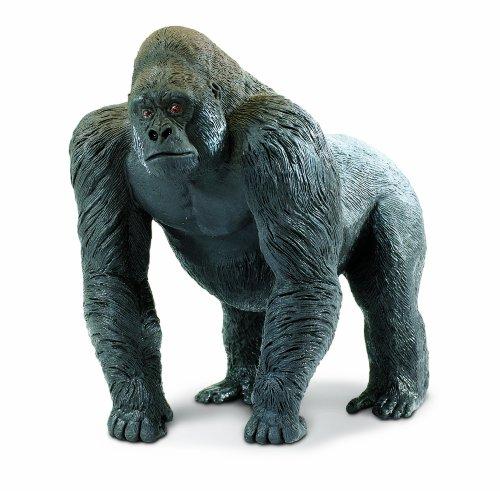 Safari Ltd Wildlife Wonders Silverback Gorilla (Inflatable Gorilla)