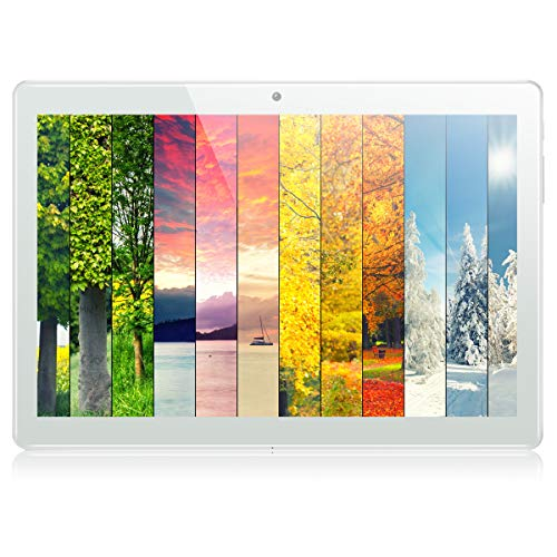"""10.1"""" Tablet Android 8.1 Oreo OS, PADGENE Google Certified Tablets with Quad-Core, 1GB RAM+16GB ROM, Dual Cameras, Dual…"""