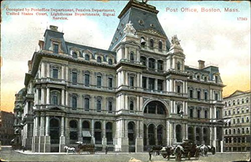 Occupied By Post Office Department Pension Department, United States Court, Lighthouse Department, Signal Service, Post Office Original Vintage Postcard