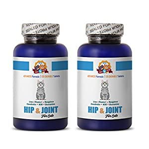 PETS HEALTH SOLUTION cat joint supplement powder - HIP AND JOINT SUPPORT - CATS TREAT - ADVANCED HEALTHY FORMULA - glucosamine for cats treats - 240 Treats (2 Bottle) 18