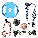 Dog Toys - Puppy Chew Tug Rope - Pet Training Toy Set