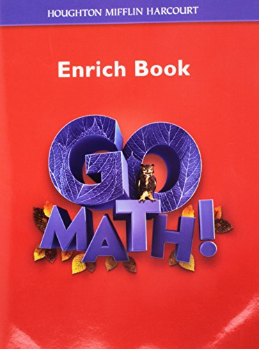 Math, Grade 6 Enrichment Workbook: Hmh Math (Go Math!) ()
