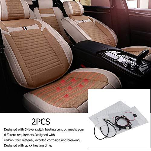 Auto Carbon Universal Sitzheizung Sitzmatten Nachr/üstsatz Auto 3 Ebenen OK