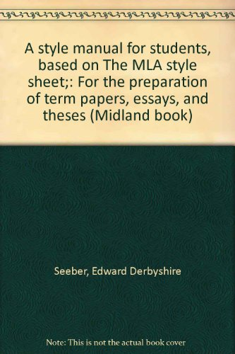 mla style sheet - 8