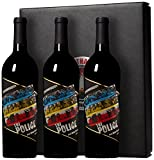 2013 The Police Synchronicity Red Blend Wine Gift Set with Box, 3 x 750ml