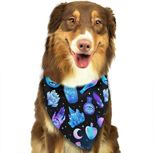 OURFASHION Magic Potions Tubes Bottles Bandana Triangle Bibs Scarfs Accessories for Pet Cats and Puppies]()