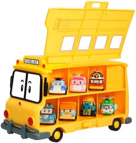 Robocar Poli Totobus, Mezzo di Trasporto dei Veicoli