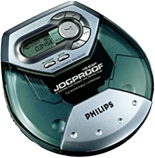 Amazon.com: Philips AX5011 Portable Jogproof CD Player with ...