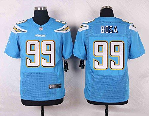 Mens #99 Light Blue Jersey Chargers Bosa - XL