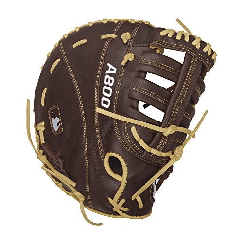 Wilson Showtime First Base Baseball Gloves, Brown/Blonde, 12