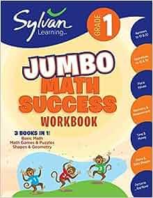 1st Grade Jumbo Math Success Workbook: Activities