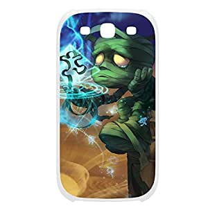 Amumu-001 League of Legends LoL case cover Samsung Galasy S3 I9300 Plastic White