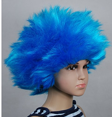 Bliss Pro's Blue Children's Straight up in the Air Wig, Emulate your Favorite Characters!