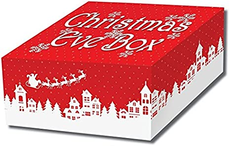 29x20x12.5cm Theme Machine Christmas Eve Gift Box Elf Design Lift off Lid