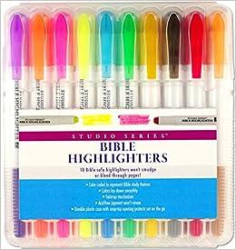 Bible Gel Highlighters (10-piece Set)