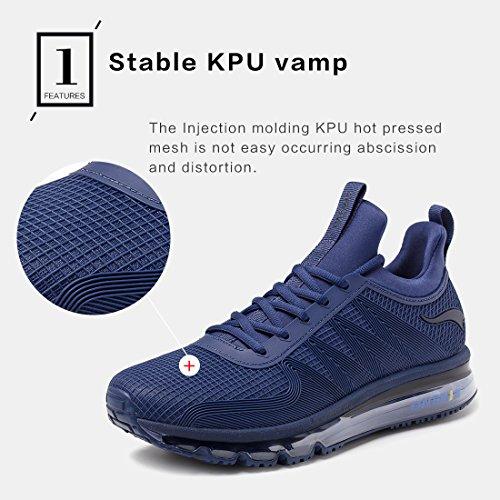 Pour Hommes Sneaker Spécialisées Et De Course Léger Sport Respirant Onemix À Pied Bleu Foncé Chaussures xaXqHxTwY