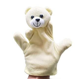 OSYAES Cute Big Size Glove Animal Glove Puppet Random Hand Dolls, Plush Toy Baby Zoo Farm Animal Hand Glove Puppet Finger Sach Plush Hand Puppets Toy