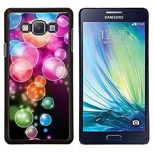 EJOOY---Cubierta de la caja de protección para la piel dura ** Samsung Galaxy A7 A7000 ** --Anime color del patrón de la burbuja