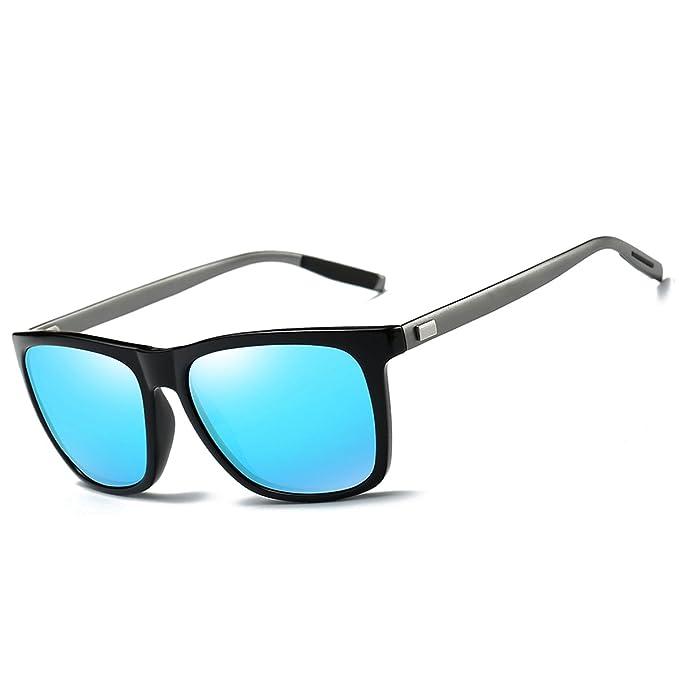 FEIDU Gafas de sol Wayfarer polarizadas para hombres Mujeres Gafas ...