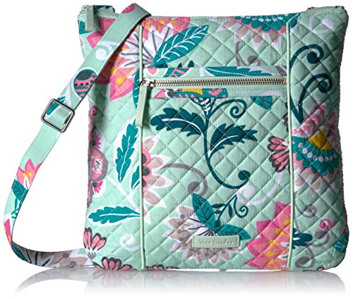 Vera Bradley Iconic Hipster, Signature Cotton, Mint -
